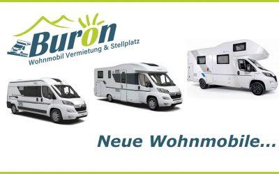 Buron Wohnmobil Mietflotte erweitert